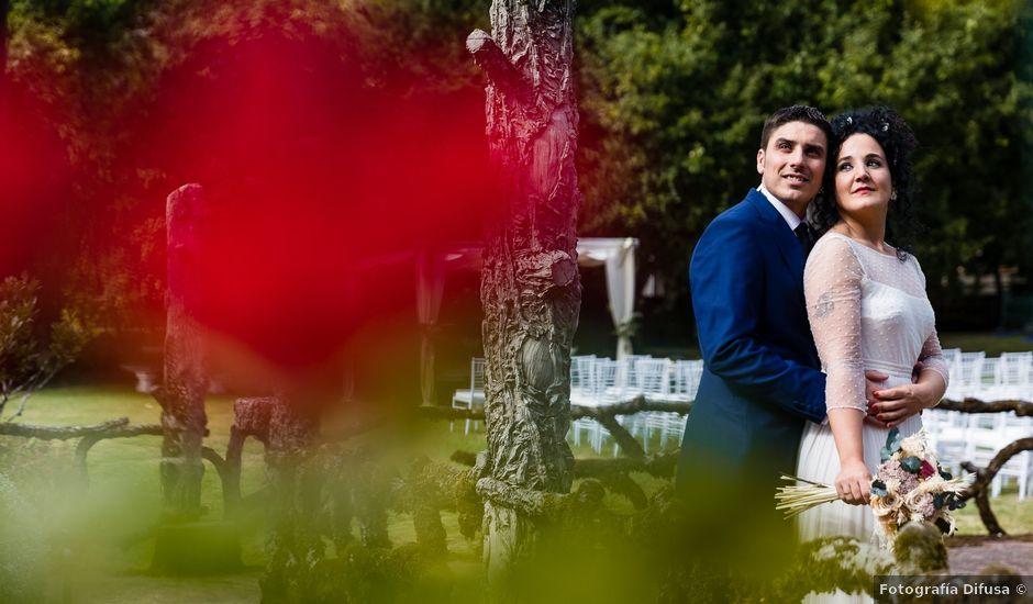 La boda de Óscar y Sandra en Cuntis, Pontevedra