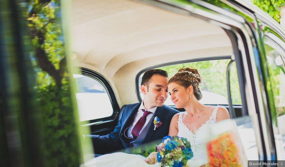 La boda de David y Cristina en El Molar, Madrid