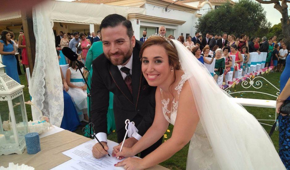 La boda de David y María en El Rompido, Huelva
