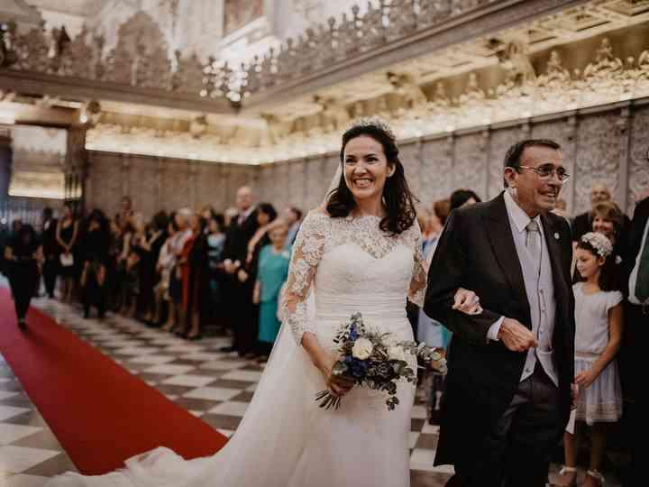 La boda de Olga y Manolo