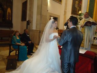 La boda de Antonia Mª y Manuel