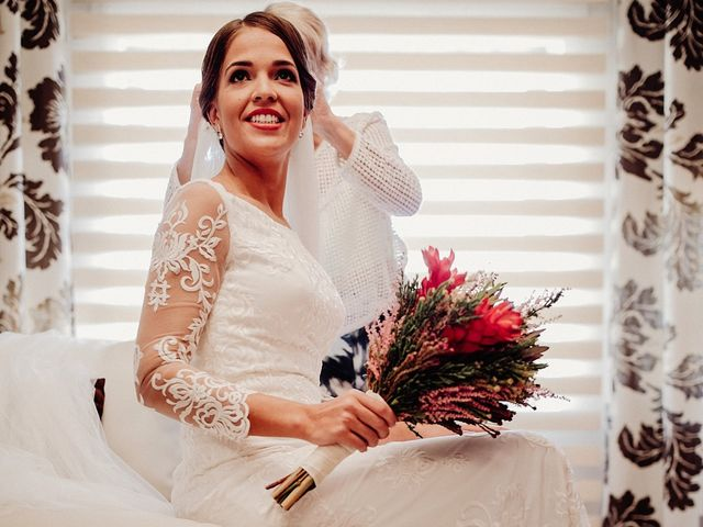 La boda de Luis y Esther en Carrion De Calatrava, Ciudad Real 17