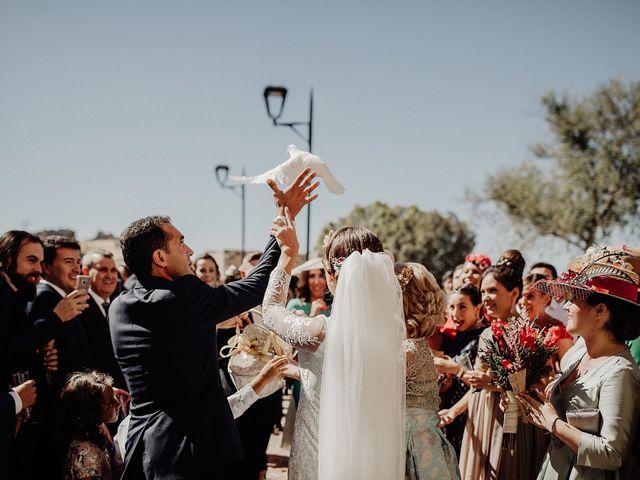 La boda de Luis y Esther en Carrion De Calatrava, Ciudad Real 35