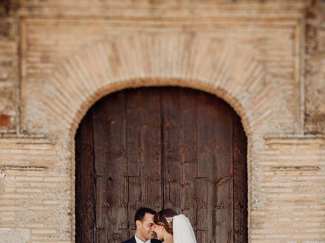 La boda de Luis y Esther en Carrion De Calatrava, Ciudad Real 38