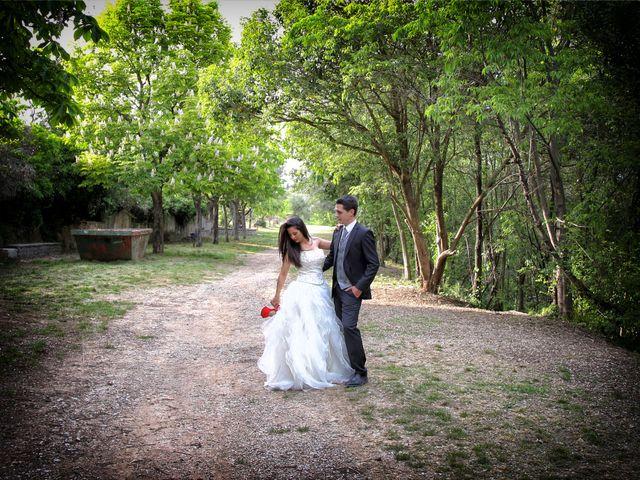 La boda de Dani y Nuria en Palau De Plegamans, Barcelona 19