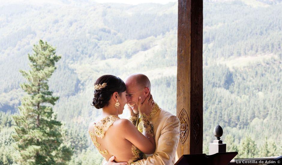 La boda de Mikel y Gitcha en Zeanuri, Vizcaya