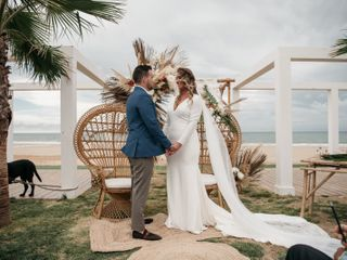 La boda de Loreto y Manolo