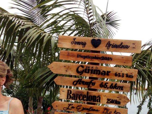 La boda de Jonay y Ariadna en Los Realejos, Santa Cruz de Tenerife 5