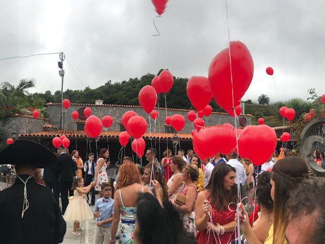 La boda de Jonay y Ariadna en Los Realejos, Santa Cruz de Tenerife 7