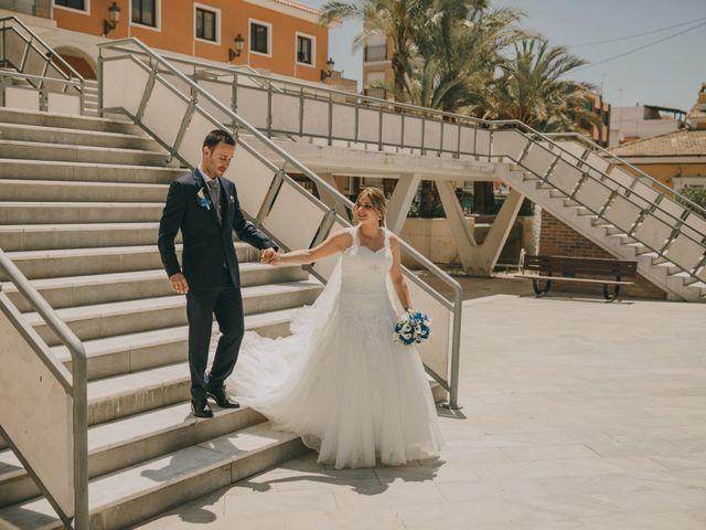 La boda de Cristian y Cristina en Guardamar Del Segura, Alicante 48