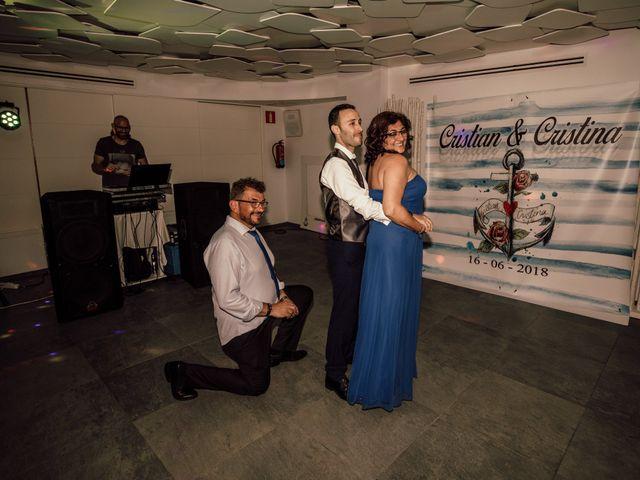 La boda de Cristian y Cristina en Guardamar Del Segura, Alicante 106