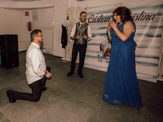La boda de Cristian y Cristina en Guardamar Del Segura, Alicante 107
