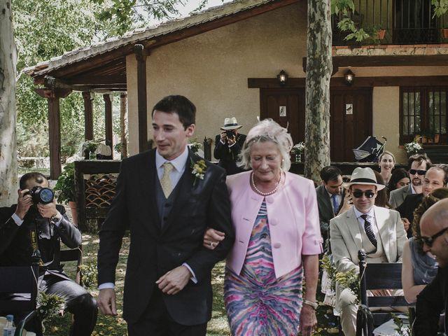 La boda de Rory y Silvia en Requijada, Segovia 49