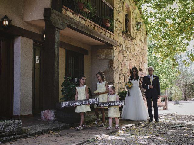 La boda de Rory y Silvia en Requijada, Segovia 52
