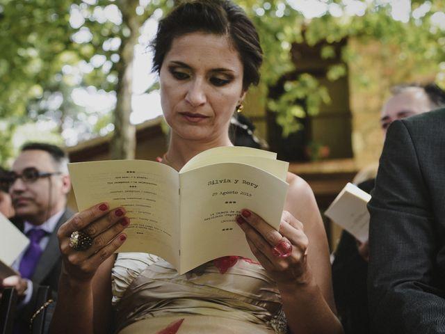 La boda de Rory y Silvia en Requijada, Segovia 60