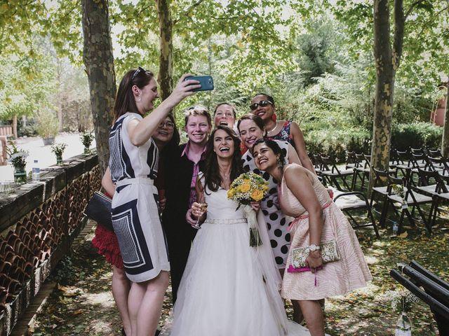 La boda de Rory y Silvia en Requijada, Segovia 80