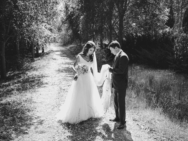 La boda de Rory y Silvia en Requijada, Segovia 91