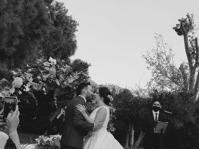 La boda de Rubén  y Cris en El Puig, Barcelona 8