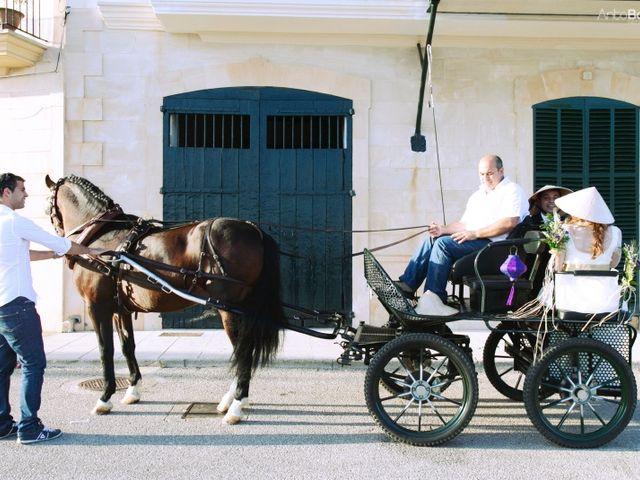 La boda de Tore y Miquela en Portocolom, Islas Baleares 7