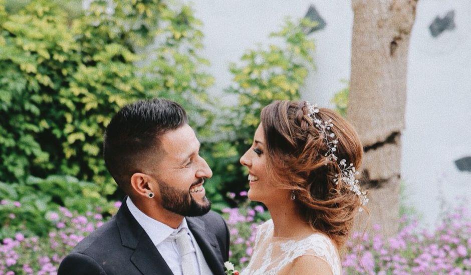 La boda de Jonay y Ariadna en Los Realejos, Santa Cruz de Tenerife