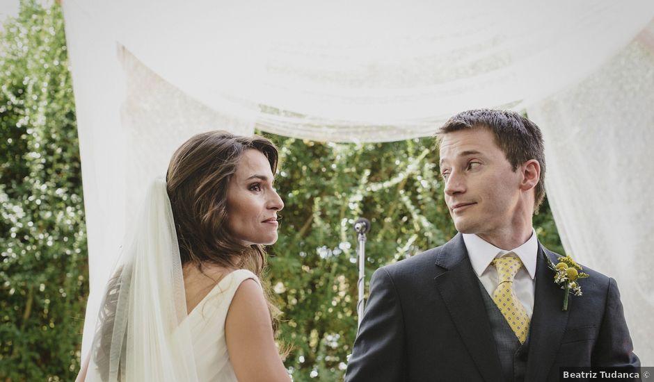 La boda de Rory y Silvia en Requijada, Segovia