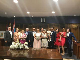 La boda de Cristina López García  y Jorge de Arriba Cubelos 1