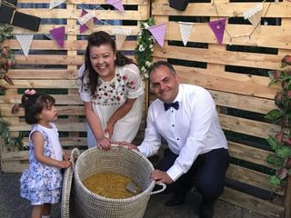 La boda de Cristina López García  y Jorge de Arriba Cubelos