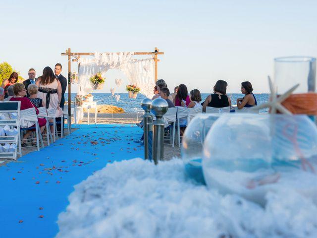 La boda de Juan Carlos y Carolina en L' Ametlla De Mar, Tarragona 10