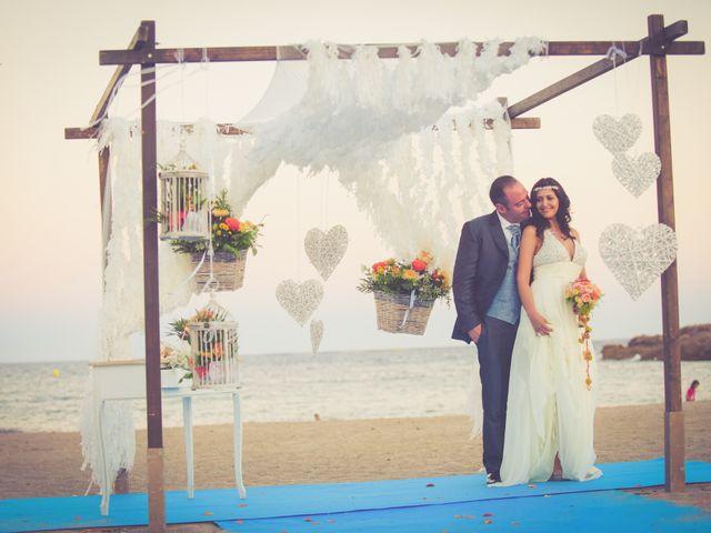 La boda de Juan Carlos y Carolina en L' Ametlla De Mar, Tarragona 16