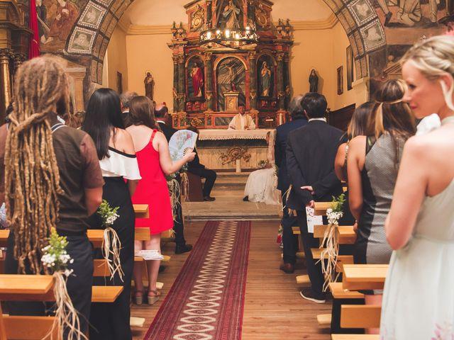 La boda de Toti y Riikka en Navas De Riofrio, Segovia 21