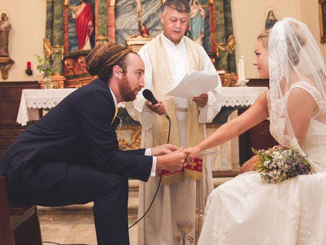 La boda de Toti y Riikka en Navas De Riofrio, Segovia 29