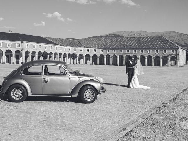 La boda de Toti y Riikka en Navas De Riofrio, Segovia 114