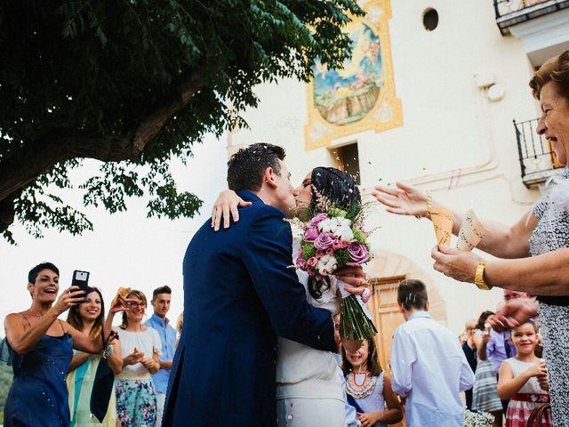 La boda de Ximo  y MariaXimo  en Onda, Castellón 123