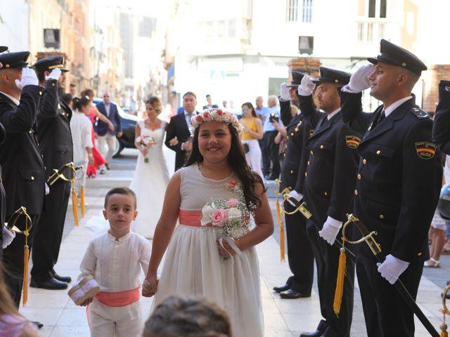 La boda de Fran y África en Málaga, Málaga 28