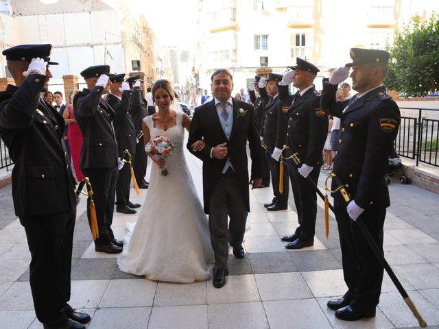 La boda de Fran y África en Málaga, Málaga 29