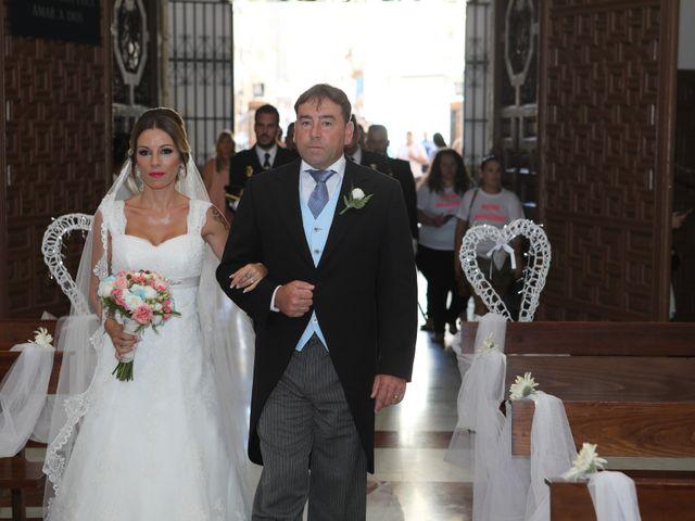 La boda de Fran y África en Málaga, Málaga 30