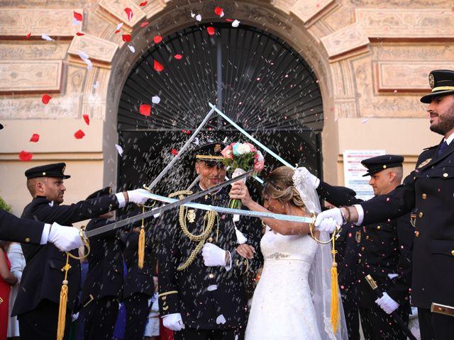 La boda de Fran y África en Málaga, Málaga 38