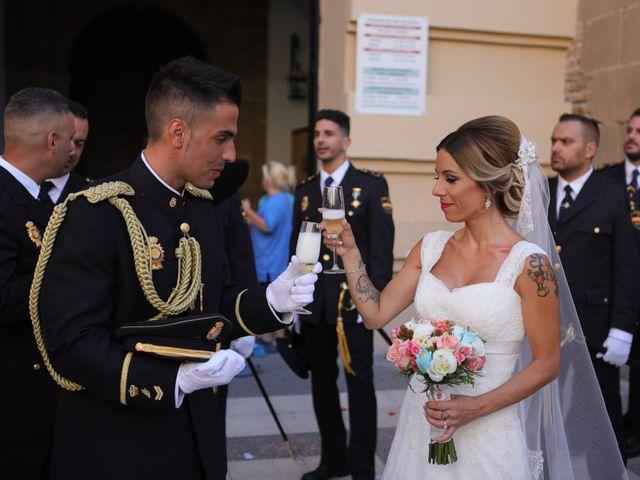 La boda de Fran y África en Málaga, Málaga 39