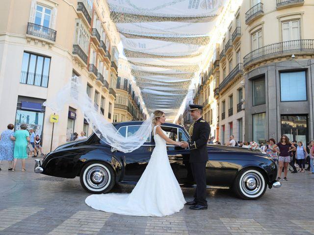 La boda de Fran y África en Málaga, Málaga 40