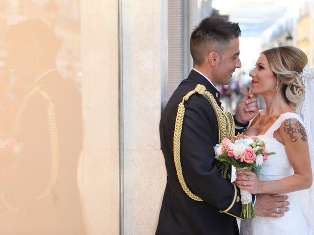 La boda de Fran y África en Málaga, Málaga 43