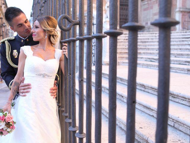 La boda de Fran y África en Málaga, Málaga 45