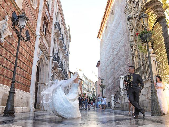 La boda de Fran y África en Málaga, Málaga 47