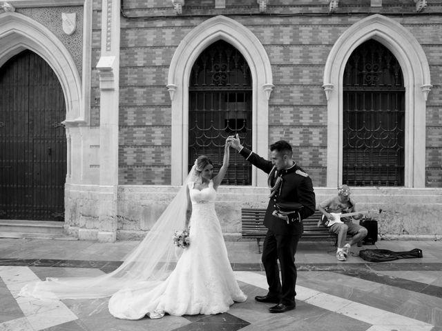 La boda de Fran y África en Málaga, Málaga 48
