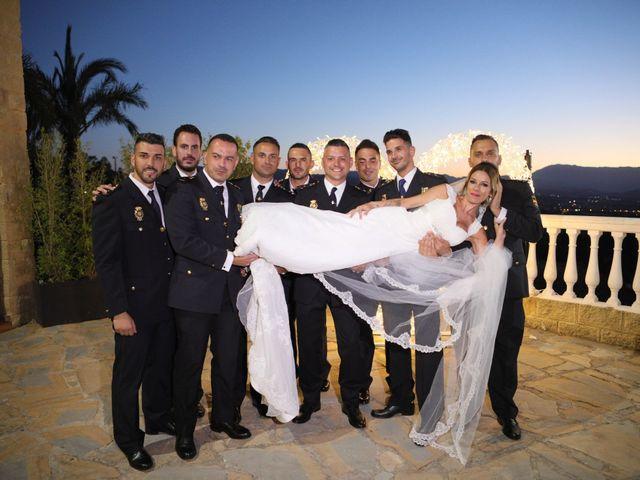 La boda de Fran y África en Málaga, Málaga 54