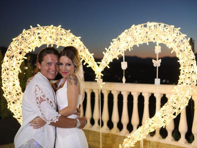 La boda de Fran y África en Málaga, Málaga 60