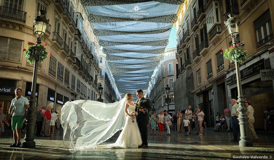 La boda de Fran y África en Málaga, Málaga