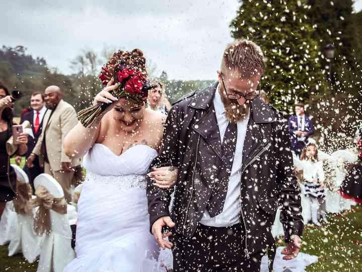 La boda de Lorena y David