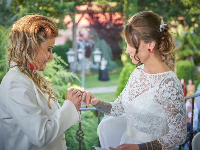 La boda de Patricia y Andrea en Galapagar, Madrid 17