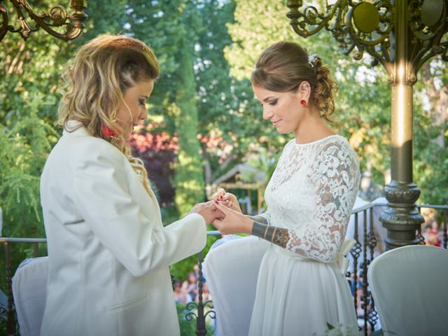 La boda de Patricia y Andrea en Galapagar, Madrid 18
