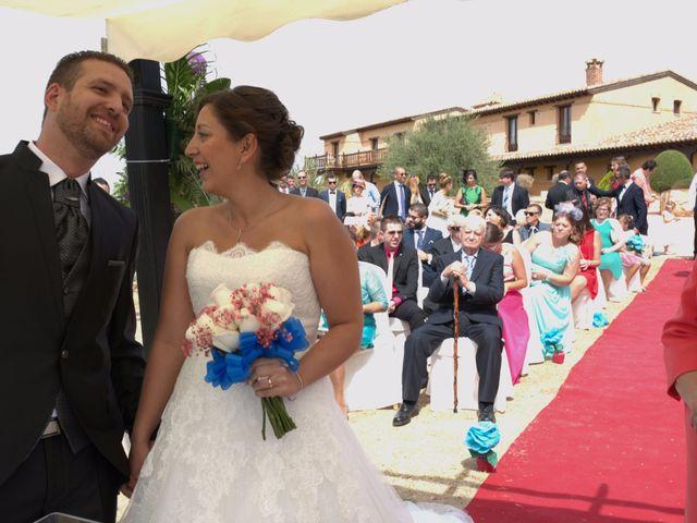 La boda de Alberto y Canty en Tiedra, Valladolid 11